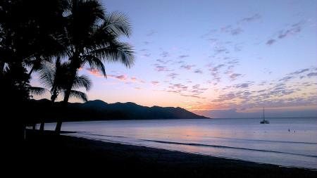 Twilight beach picture of Horseshoe Bay