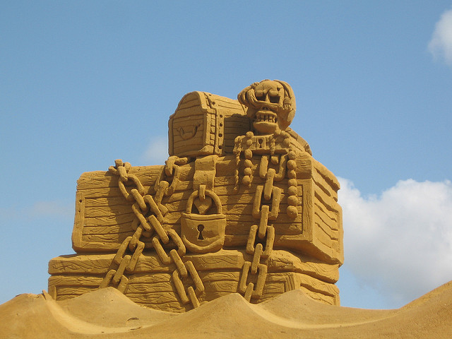 Sand Giant in Blankenberge by Timitrius Flickr