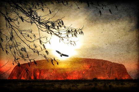 Uluru by Cornelia Kopp on Flickr