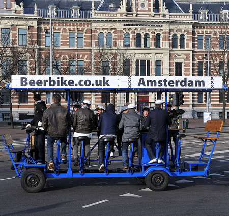 Beer Bike by FaceMePLS on Flickr