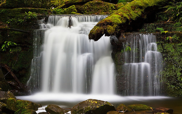 Strickland Falls Tasmania by Jim Trodel on Flickr