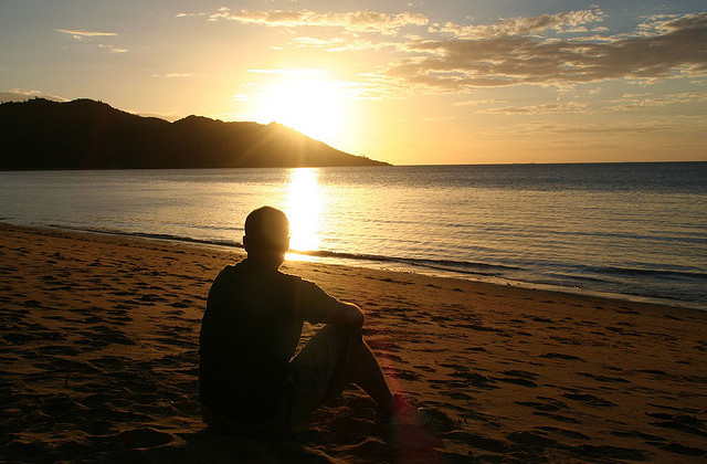 Sunset on Horseshoe Bay Magnetic Island by Rob & Jules on Flickr