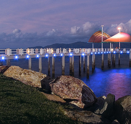 Townsville Strand at Night by Rob Bruce on Flickr