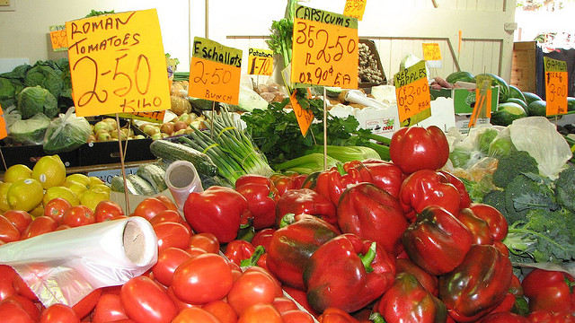 Fresh Veggies at the Farmers Market in Townsville Australia