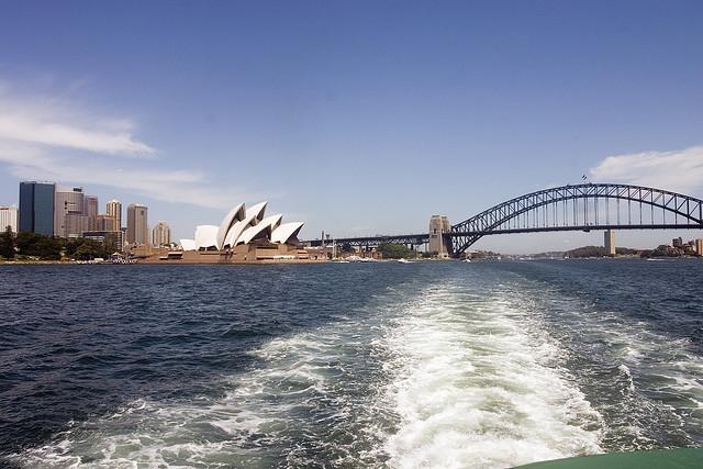 Sydney Harbour Bridge by Jimmy Harris on Flickr