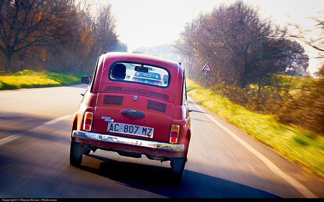 Fiat 500 by Moyan Brenn