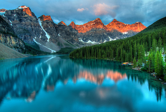 Moraine Lake by James Wheeler on Flickr